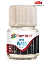 Humbrol AV0202 Enamel Wash 28 ml - White - Fehér Enamel bemosófolyadék