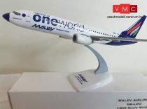 ISI Ma738 Boeing B737-800 MALÉV, HA-LOU,  ONE WORLD (1:100)