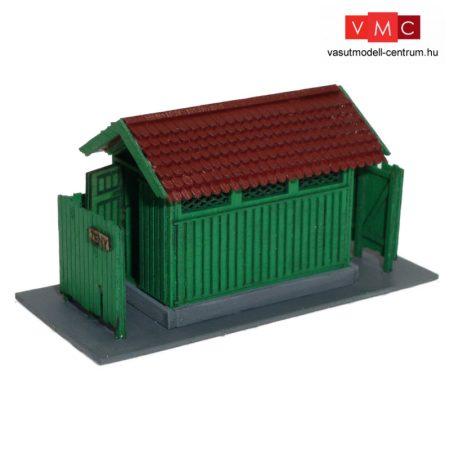 Igra Model 111002 Pályaudvari illemhely, állomási WC - Hevlín (H0) - LC