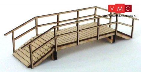 Igra Model 111010 Gyalogoshíd fából - Art. 1 (H0) - LC