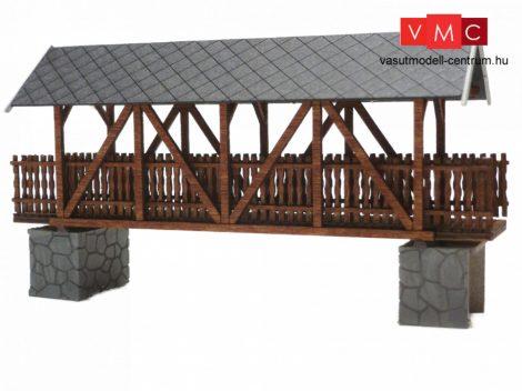 Igra Model 120019 Fedett gyalogoshíd fából - Art. 4 (TT) - LC