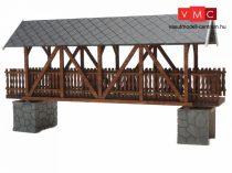 Igra Model 121019 Fedett gyalogoshíd fából - Art. 4 (H0) - LC