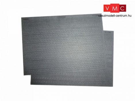 Igra Model 121024_c Dekorlap: Eternit - fekete (H0) - LC