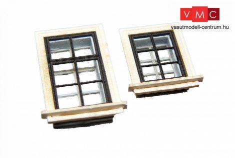 Igra Model 122004 00 Ablakkészlet, kicsi - fehér (N)