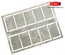 Igra Model 131001 Betonlap útelemek, 20 db, 16,6mm x 25mm - Art. 1 (H0) - LC