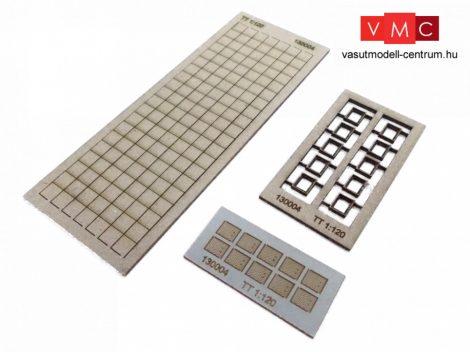 Igra Model 131004 Kábelcsatorna fedőkövek, 10 db - Art. 1 (H0) - LC