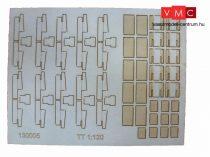 Igra Model 131005 Kábelcsatorna fedőkövek, 10, db, váltókhoz - Art. 2 (H0) - LC