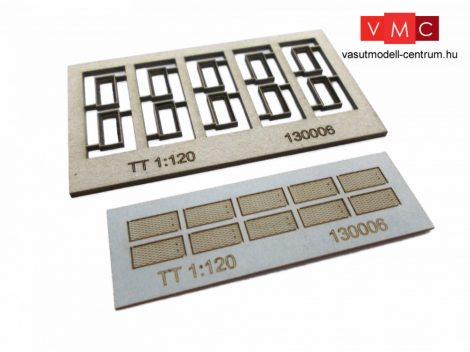 Igra Model 131006 Kábelcsatorna fedőkövek, 10 db, fedlapok - Art. 3 (H0) - LC