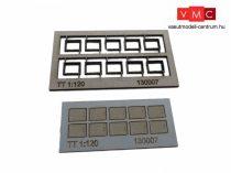 Igra Model 131007 Kábelcsatorna fedőkövek, 10 db, fedlapok - Art. 4 (H0) - LC