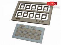 Igra Model 131008 Kábelcsatorna fedőkövek, 10 db, fedlapok - Art. 5 (H0) - LC