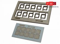 Igra Model 132008 Kábelcsatorna fedőkövek, 10 db, fedlapok - Art. 5 (N) - LC