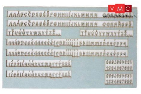 Igra Model 160013 Dombornyomott betűk és számok (TT)