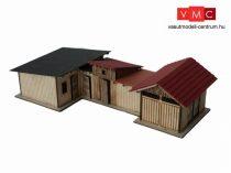 Igra Model 161004 Szerszámtároló és egyéb hátsó épületegyüttes - Hraštice (H0) - LC