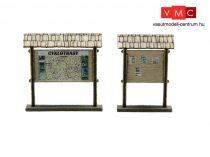 Igra Model 171003 Információs tábla tetővel, 2 db (H0) - LC