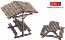Igra Model 181002 Szabadtéri pihenőpadok, 2 db (H0) - LC