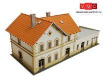 Igra Model 191007 HÉV másodosztályú felvételi épület melléképülettel, vasútállomás - Rajec (H0) - LC