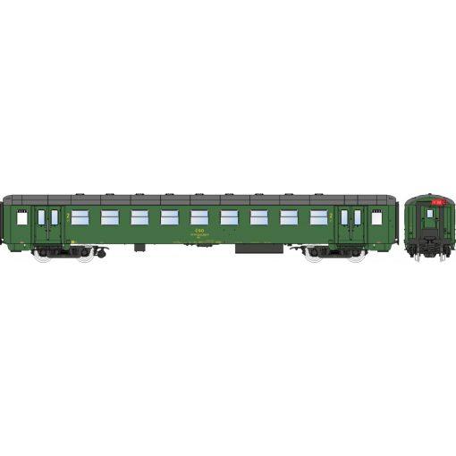 Igra Model 97110019 Személykocsi, négytengelyes Bai sorozat, 2. osztály, Liberec, CSD (E4) (