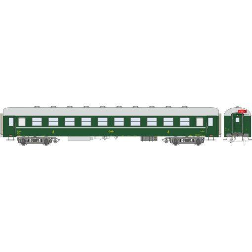 Igra Model 97410000 Személykocsi, négytengelyes Ba sorozat, 2. osztály, Praha, CSD (E3) (H0)