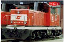 Jägerndorfer JC20692 Dízelmozdony Rh 2068, ÖBB, Basic (H0) (E4) - Sound