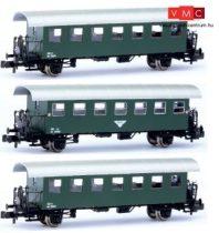 Jägerndorfer JC60310 Személykocsi-készlet, 3-részes Bi sorozat, 1 db fél és 2 db teli abl