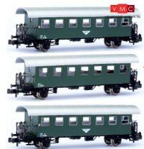 Jägerndorfer JC60320 Személykocsi-készlet, 3-részes Bi sorozat, 1 db teli és 2 db fél abl