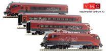 Jägerndorfer JC70402 Railjet személyvonat-készlet, Spirit of Europe, ÖBB, Basic (E6) (H0)