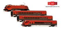 Jägerndorfer JC71402 Railjet személyvonat-készlet, Spirit of Europe, ÖBB, High-End (E6) (H0