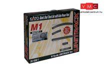 Kato 7078620 Unitrack M1 alap sínkészlet, ágyazatos ovál pályával, Kato PowerPack transzf