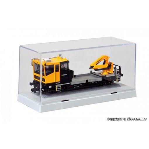 Kibri 12065 Modelltároló vitrin H0 vágánnyal (H0,TT)