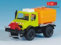 Kibri 12259 UNIMOG teherautó, tartály adapterrel