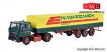 Kibri 12271 MAN farönkszállító kamion, rakodódaruval