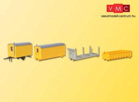 Kibri 15700 Legördíthető teherautó felépítmények (3 db)