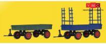 Kibri 15702 Mezőgazdasági pótkocsik (2 db), FENDT
