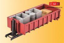 Kibri 15709 Multilift legördíthető nyitott felépítmény, rakománnyal (H0)