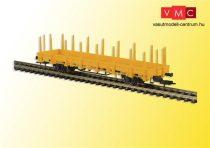 Kibri 16200 Rakoncás pályafenntartási teherkocsi, sárga (H0)