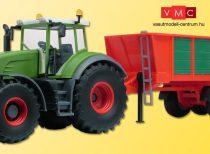 Kibri 22278 Fendt Vario 936 traktor Kemper UniTrans 1800 tip. Adapterrel