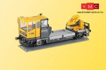 Kibri 26100 Robel pályafenntartó vasúti jármű daruval - Kész modell