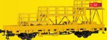 Kibri 26262 Pályafenntartási teherkocsi szerelőállvánnyal, Gleisbau (H0)