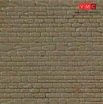Kibri 34118 Dekorlap, kőfal, szabályos sorban