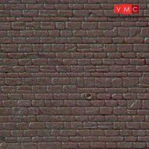 Kibri 34146 Dekorlap, kőfal, szabálytalan sorban