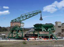 Kibri 36738 Nagy szenelő daruval, Gremberg/Rheinland