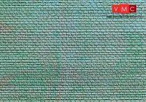 Kibri 36910 Dekorlap, kőfal, szabályos sorban
