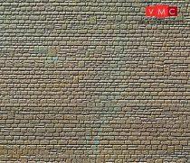 Kibri 36912 Dekorlap, kőfal, szabálytalan sorban