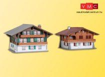 Kibri 37034 Alpesi családi házak, Lenk (2 db)