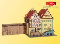 Kibri 37110 Városfalra épült favázas ház, Schwäbisch Hall