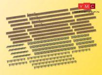 Kibri 37480 Kerítéskészlet, kapukkal (N)