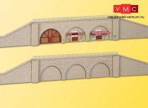 Kibri 37671 Támfal falazott árkádokkal, lezáró elemekkel