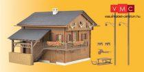 Kibri 38011 Alpesi hegyi ház, LED-világítással (H0)