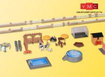 Kibri 38100 Kertkiegészítők családi házakhoz