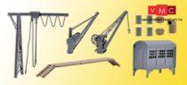 Kibri 38101 Gyári rakodódaru kiegészítőkkel